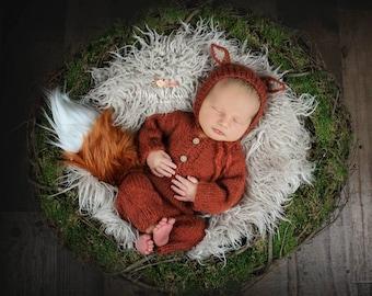 Knit fox outfit  3b831a4de5f3