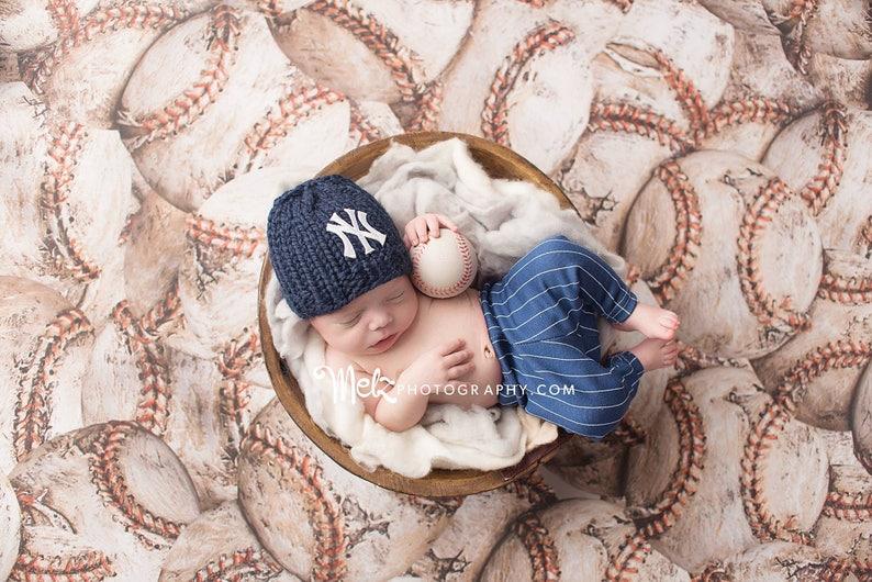 NY Yankees Baby Hat Newborn Yankees Hat Newborn Yankees  5a9d9ea1903