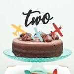 Birthday Cake Topper - Cake Topper - Cardstock Cake Topper - Baby Cake Topper