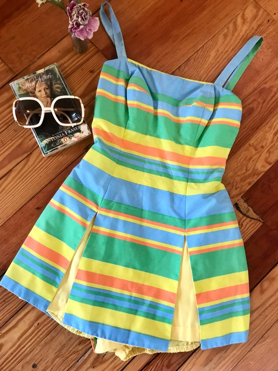 Vintage 1950s Gabar Swim Suit - One-Piece