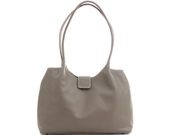 Leather shoulder bag, leather bag, leather handbag, leather tote bag, leather tote, women bag, tote bag, leather purse, handmafe bag, tote