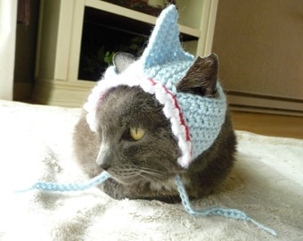 Shark Costume for Cats and Dogs Shark Hat for Cats and Dogs Shark Pet Halloween Costume Cat Hat Dog Hats for Dogs Cat Costume Dog Costume & Pet Costumes | Etsy