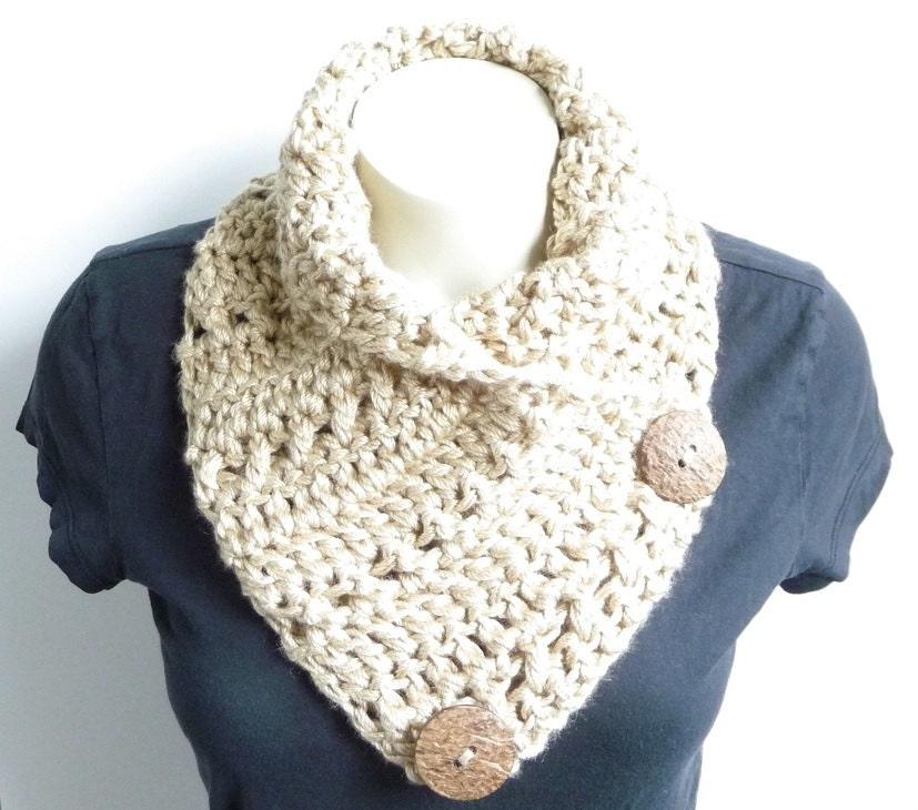 Crochet Scarf Pattern Crochet Cowl Pattern Neckwarmer Pattern Etsy