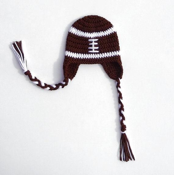 Crochet Football Hat Pattern Crochet Pattern Newborn Football  6eb8411fda3