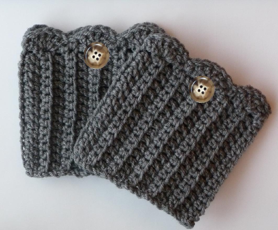Leg Warmers Womens Boot Socks CROCHET PATTERN Crochet Boot