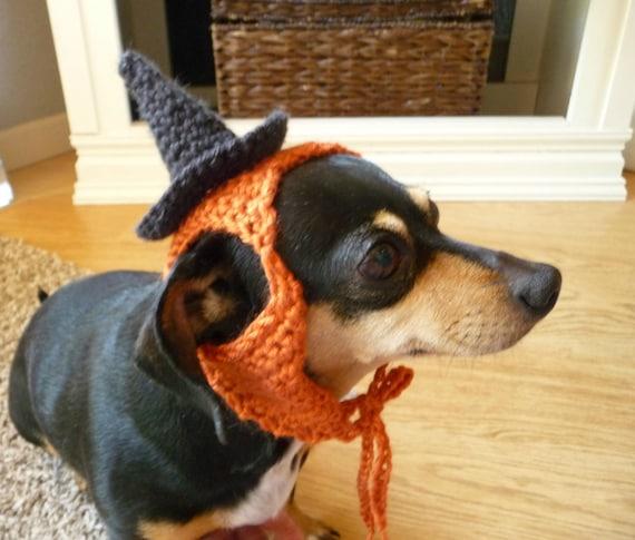 Dog Halloween Costume Crochet Pattern Dog Costume Witch Etsy