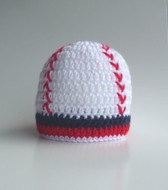 Baseball Cap Crochet Pattern Baseball Hat Baseball Mom Crochet  15e7ee47e82