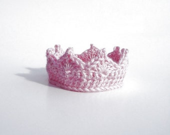 Baby Girl Crown CROCHET PATTERN Baby Girl Princess Crown Newborn Baby Crown Photo Prop Baby Shower Gift Infant Baby Girl Gifts Crown Hat PDF