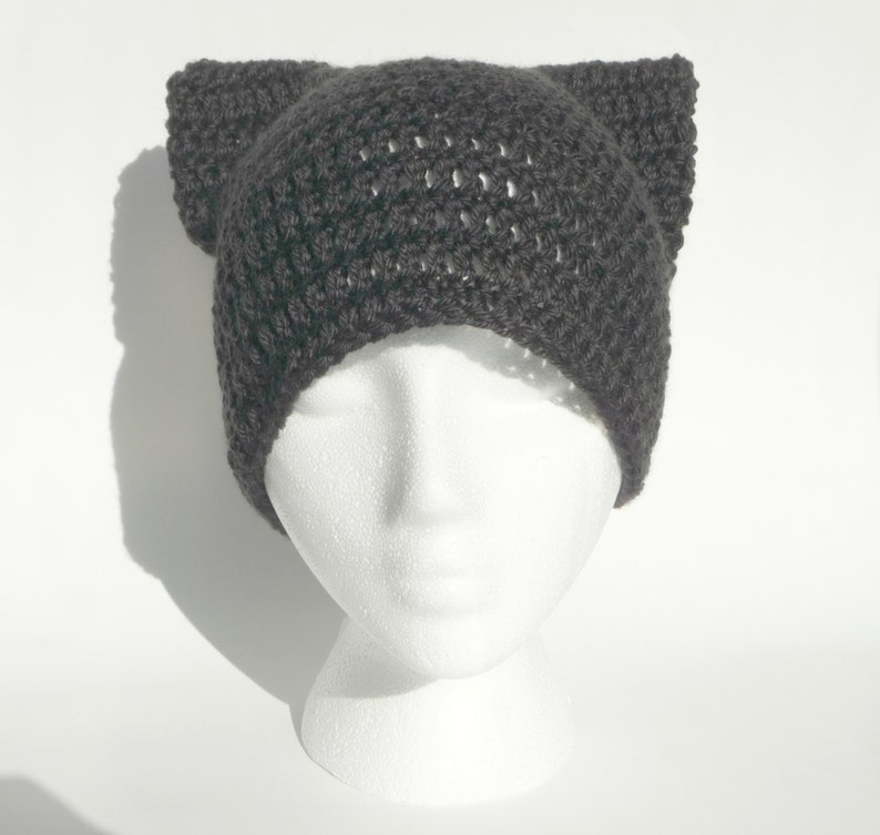 Cat Hat Crochet Pattern Crochet Cat Hat Baby Cat Hat Pattern  a52eba8a9bc
