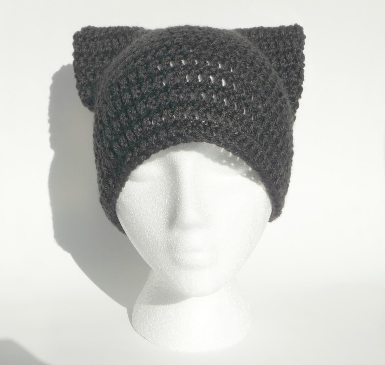 Cat Hat Crochet Pattern Crochet Cat Hat Baby Cat Hat Pattern Etsy