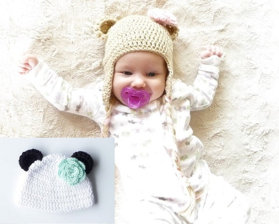 Crochet Bear Hat Pattern Bear Hat Crochet Pattern Crochet Etsy