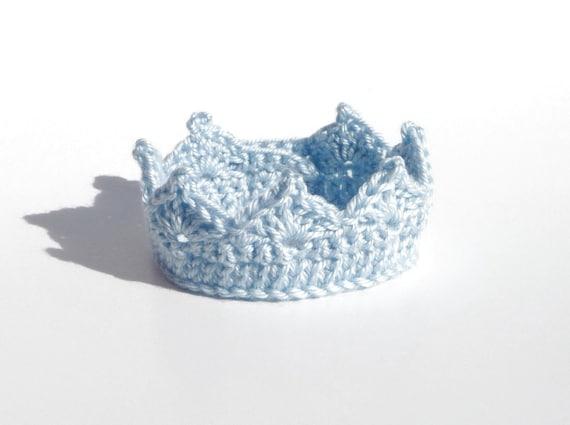 Baby Crown Crochet Pattern Headband Baby Boy Clothes Newborn Etsy