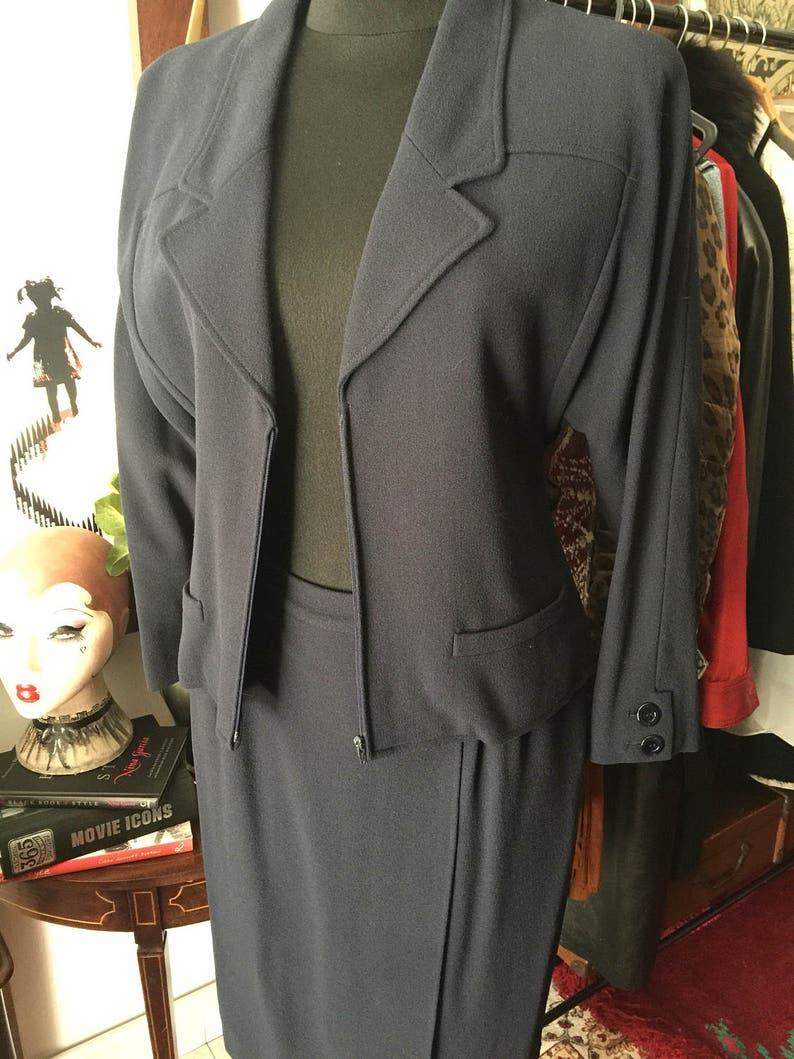 Valentino Boutique skirt suit