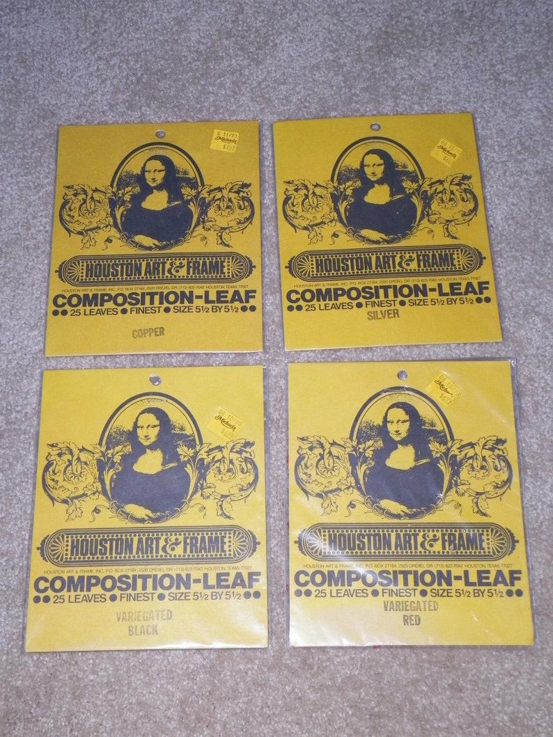 Variegated Leaf 1 Booklet - 25 Sheets Dark Stone