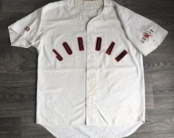 michael jordan button up shirt