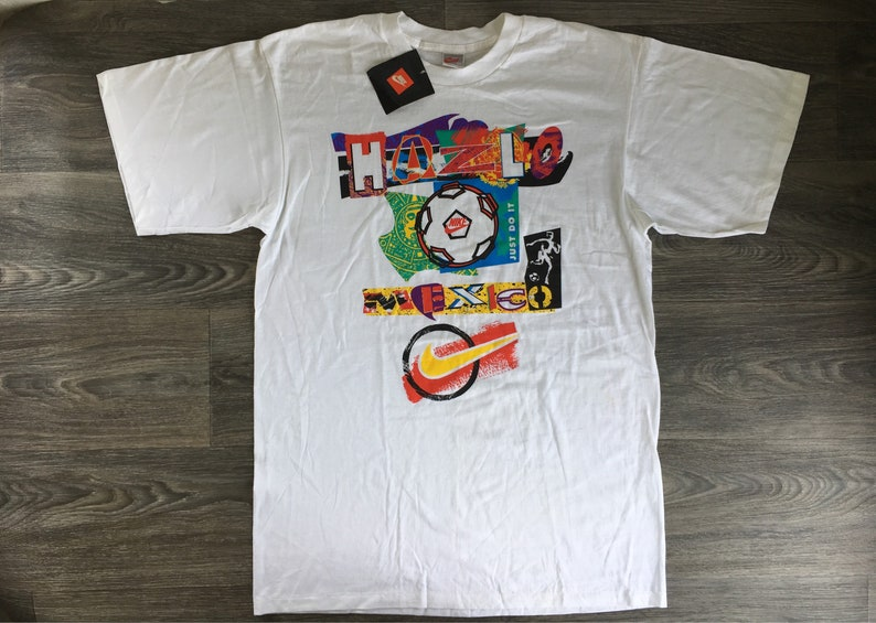 8d6afced9c8196 Nike Hazlo Mexico Tshirt Vintage 90s Just Do It New With Tags