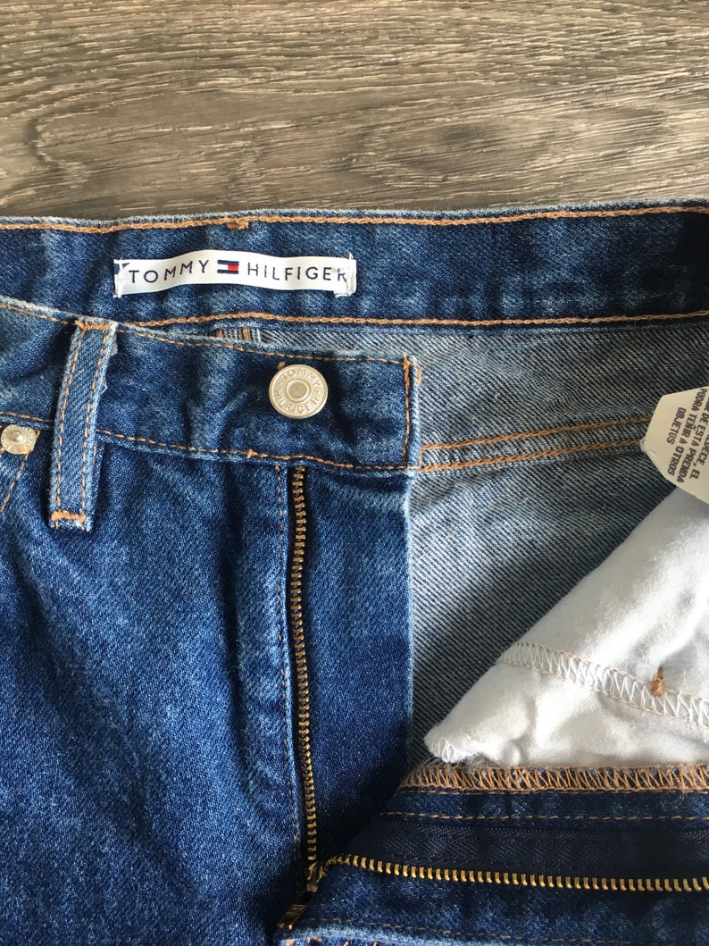 83cee5637 Tommy Hilfiger Denim Jeans Vintage 80s High Waist Wedgie Fit   Etsy
