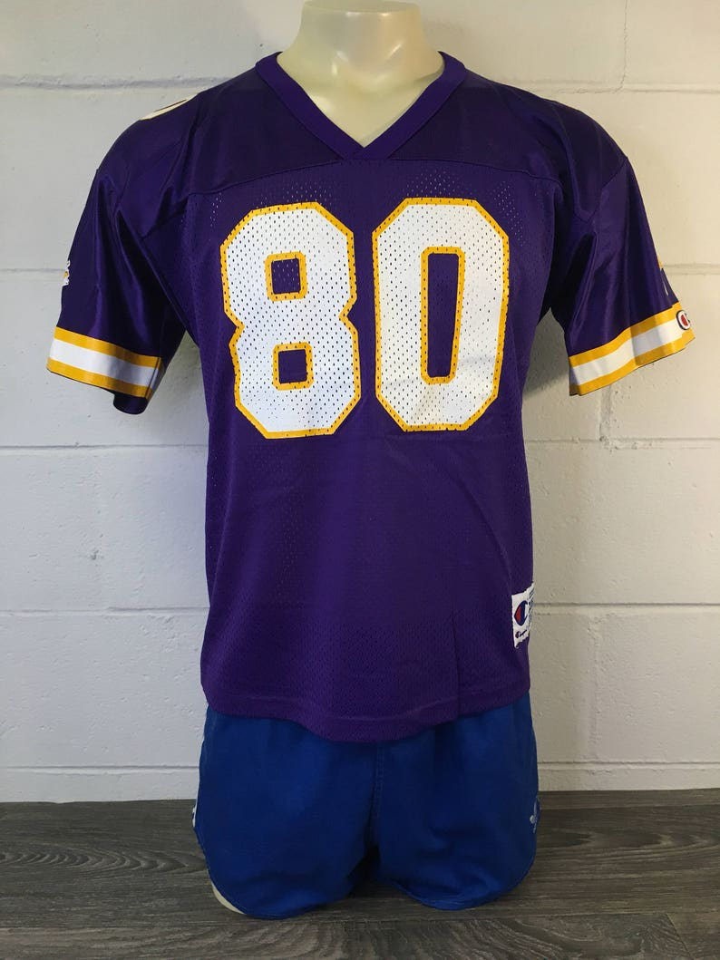 finest selection 377f8 3f095 MINNESOTA VIKINGS Jersey 90's Cris CARTER Vintage/ #80 Champion Mint  Condition Name Plate Mesh Shirt/ Wide Receiver Football NfL