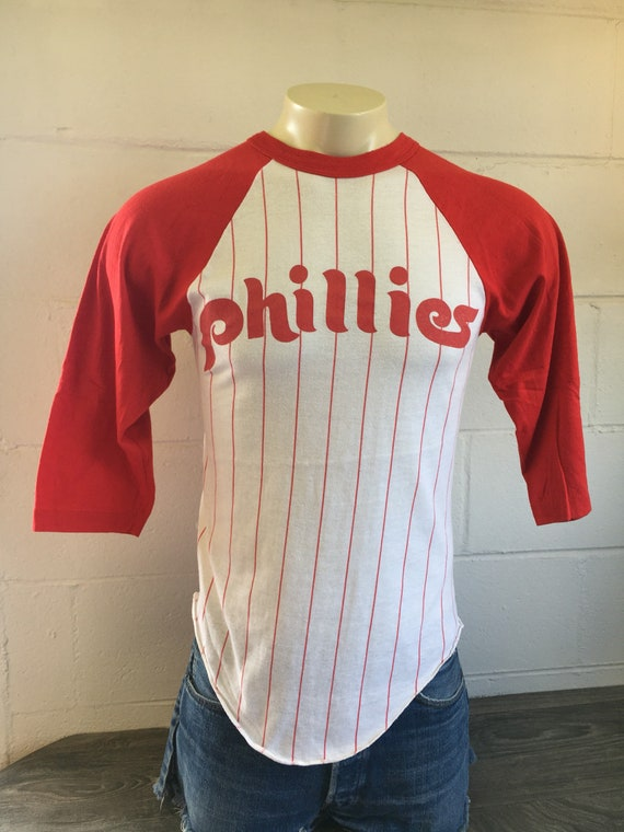 Philadelphia Phillies Jersey Shirt Vintage 70s MLB Baseball  89b79f1478b