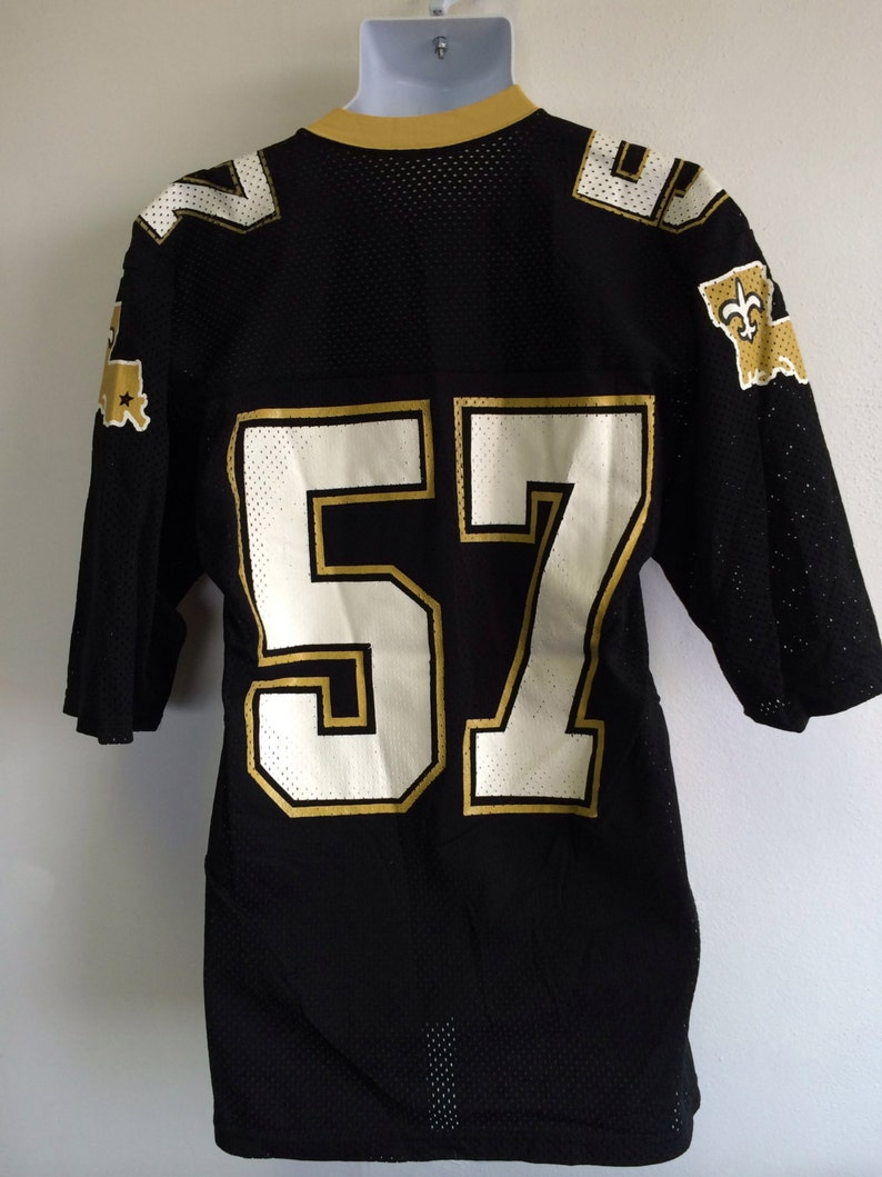 7e1798d88 NEW ORLEANS SAINTS Jersey 1980s Vintage  Original Rickey