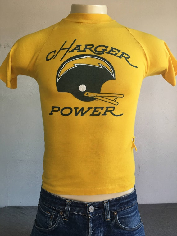 02b8be7ba CHARGERS Shirt 70 s 80 s Vintage  San Diego LA Los