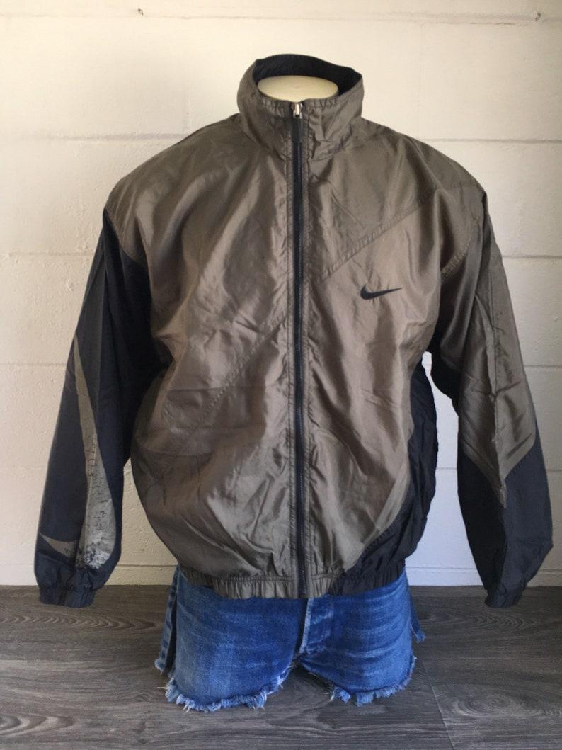 68b2bf5d1e2a NIKE Jacket WINDBREAKER 90 s Vintage  Full Zip Big Swoosh