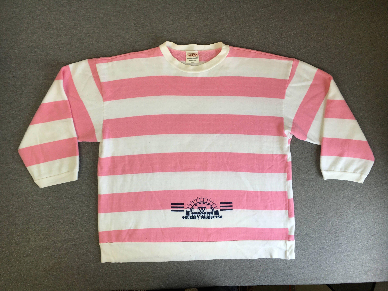 1ca4fea33e4a Guess Jeans T Shirt Pink Striped   Huston Fislar Photography