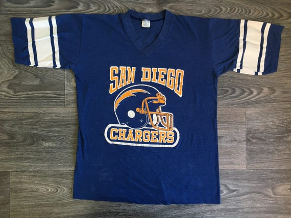 CHARGERS Shirt 70's Vintage/ San Diego