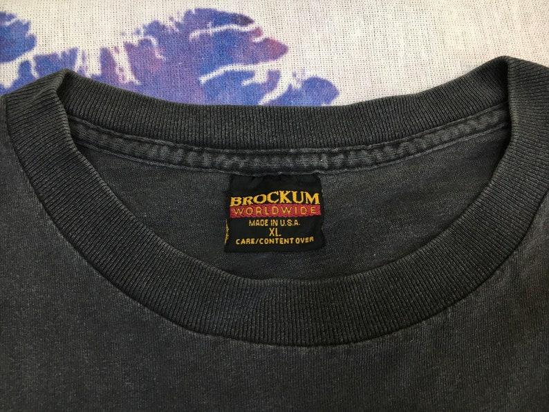 Rolling Stones Shirt 1994 Vintage Single Stitch Sleeve Voodoo Lounge Tour Tshirt Brockum Mega Print Keith Richards Mick Jagger Tee UsA  XL