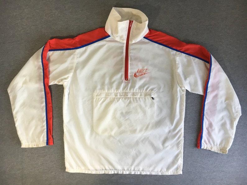 7009fcfb65f7 NIKE WINDBREAKER Jacket 70s 80 s Vintage  Talon Zipper