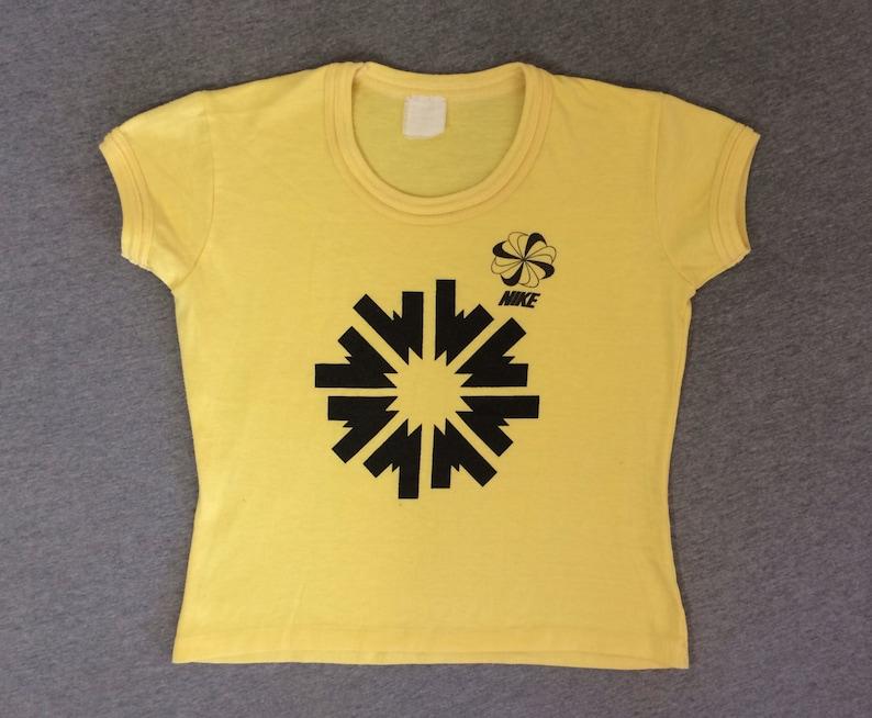 7d883fcb NIKE PINWHEEL 70's Shirt Vintage/ Original RARE Athletics   Etsy