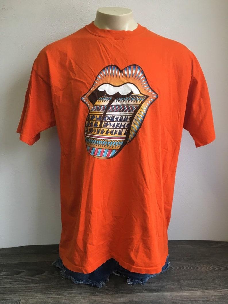 1e48e973 ROLLING STONES Shirt 1997 Vintage Bridges To Babylon World | Etsy