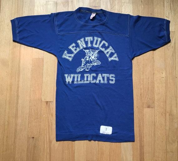 Kentucky Wildcats Jersey Shirt 60's Vintage Tshirt