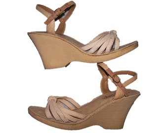 269fc874bc Women's Size 10 Shoes Strappy High Heeled Wedge Sandals