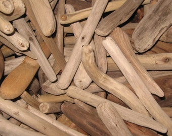 "Driftwood by the Pound-Assorted Shapes, 3""-7"" Long, 30+ Pieces, Buy 4, Get 1 Free!"