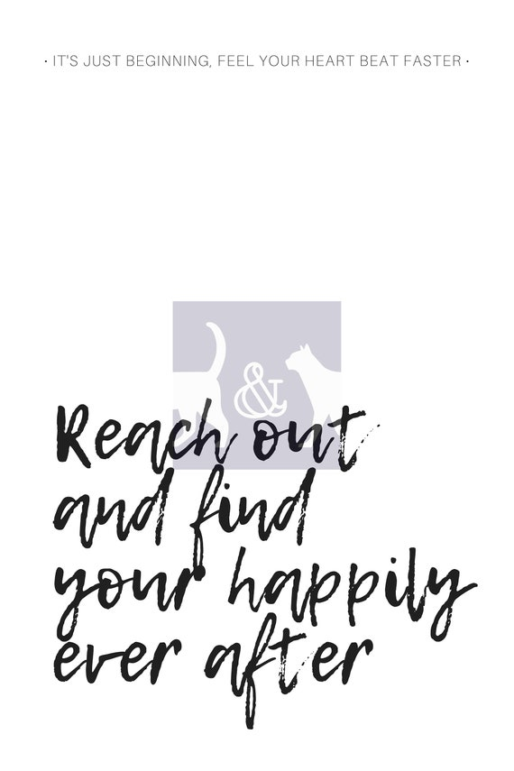 Disney World - Happily Ever After Fireworks Quote Print   Instant Download    Typography   Minimalist   Wall Art   Poster   Gift Idea