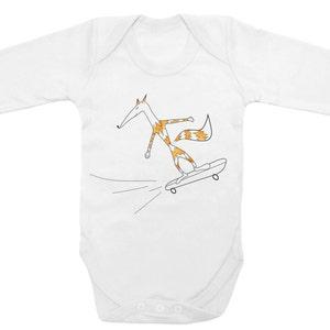 baby ski suit newborn present future skier Skiing baby unisex infant gift active baby bodysuit