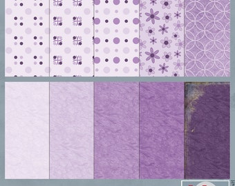 Radiant Orchid Digital Scrapbook Papers