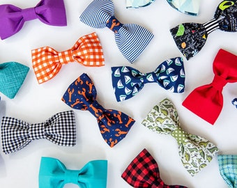 Dog Collar Bowties- please note the pattern of your choice at checkout