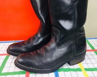 cea34d2672d Boots men's size 9 | Etsy