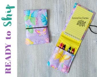 Artist Drawing Set, Butterfly Lover Gift, Easter Gift Ideas, Toddler Craft Kit, Gifts for Kids, Art Kit for Kids, Girls Mini Art Set RTS