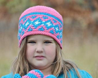 f7e5cabb494 Crown Ear Warmer Flower Headband Crochet Winter Crown Girls