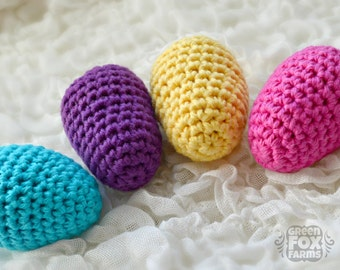 Easter Eggs Rattles, Egg Rattles Knit, Baby Easter Gift, Crochet Eggs, New Baby Gift, Easter Egg, Easter Gifts Toddler, Easter Toy Baby