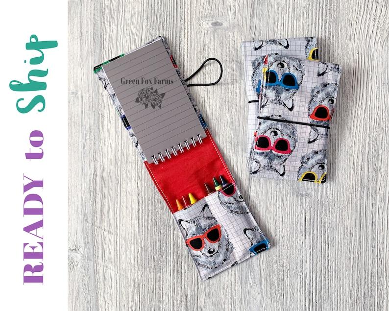 Arts and Crafts for Boys Easter Basket Stuffer Cool Wolves Toddler Craft Kit Art Kit for Kids Artist Drawing Set