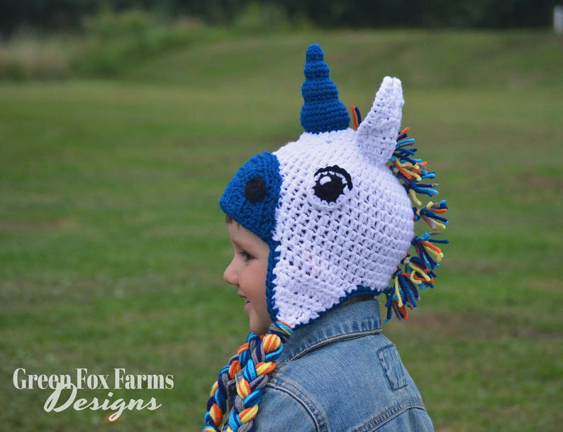 0e5b6601f10 Crochet Unicorn Hat Knit Unicorn Hat Unicorn HatAnimal Hat