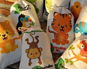 Rainforest Animals Etsy