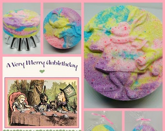 Alice in Wonderland Bath Bomb (Afternoon Tea Party Fragrance)