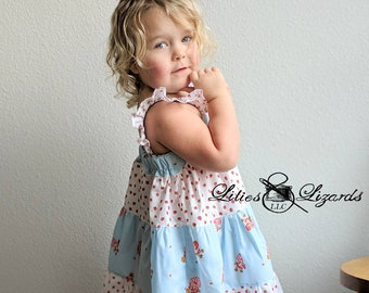 Size 5 Strawberry Shortcake Summer Dress