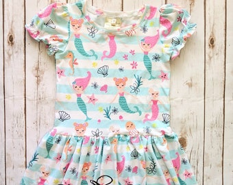 Girl's Mermaid Dress