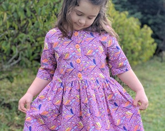 Girls Dragonfly Dress